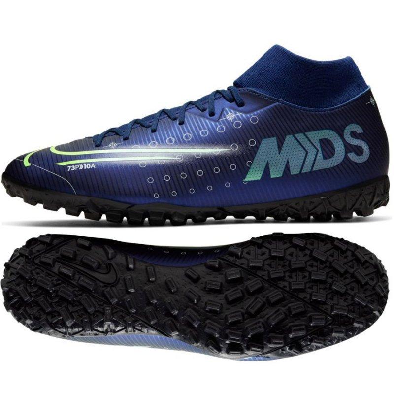 Buty Nike Mercurial Superfly 7 Academy MDS TF BQ5435 401 niebieski 42