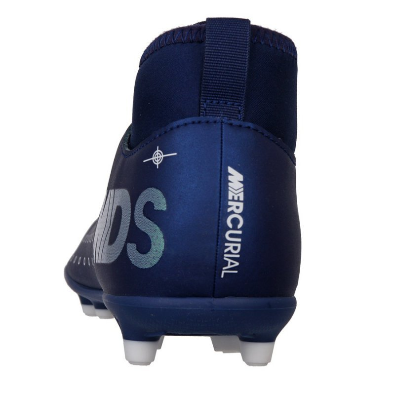 Buty Nike JR Mercurial Superfly 7 Club MDS FG/MG BQ5418 401 niebieski 32