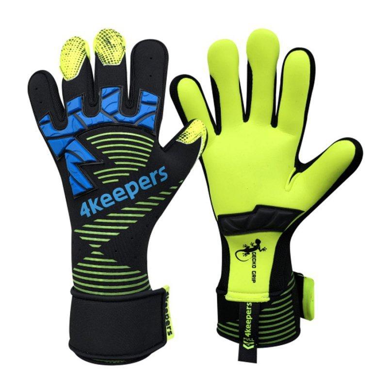 Rękawice 4keepers Gecko Nactus MNC + płyn czyszczący czarny 9
