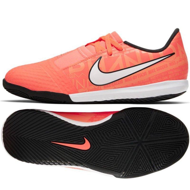 Buty Nike JR Phantom Venom Academy IC AO0372 810 pomarańczowy 38