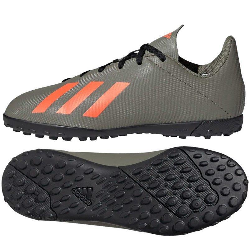 Buty adidas X 19.4 TF J EF8378 zielony 37 1/3