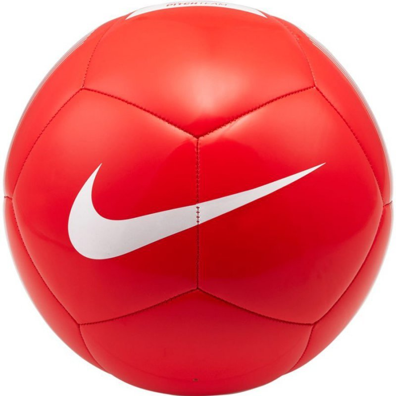 Piłka Nike Pitch Team czerwony 5