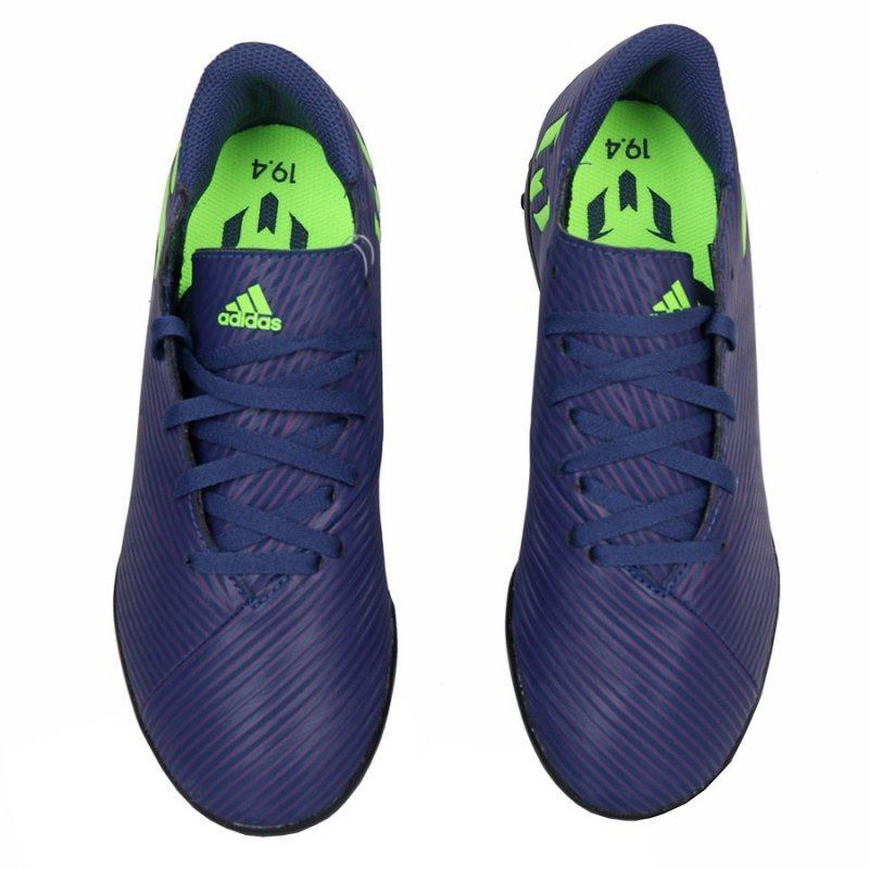 Buty adidas Nemeziz Messi 19.4 TF J EF1818 granatowy 37 1/3