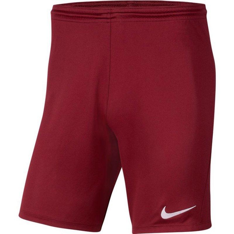 Spodenki Nike Park III BV6855 677 czerwony S