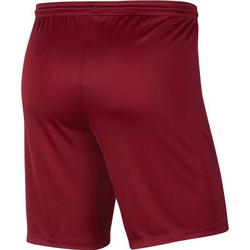 Spodenki Nike Park III BV6855 677 czerwony M