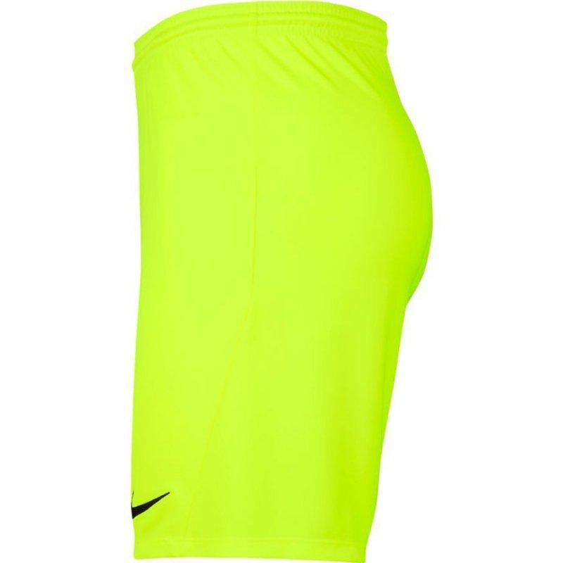 Spodenki Nike Park III BV6855 702 żółty L