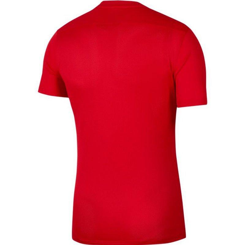 Koszulka Nike Park VII Boys BV6741 657 czerwony XS (122-128cm)