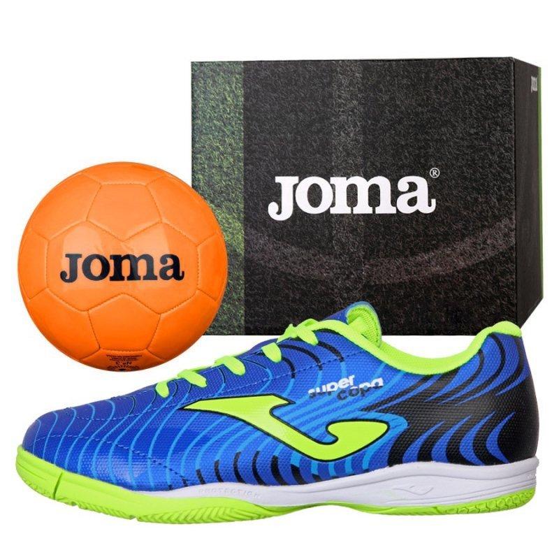 Buty Joma Super Copa JR 2004 IN SCJS.2004.IN + Piłka Gratis niebieski 29
