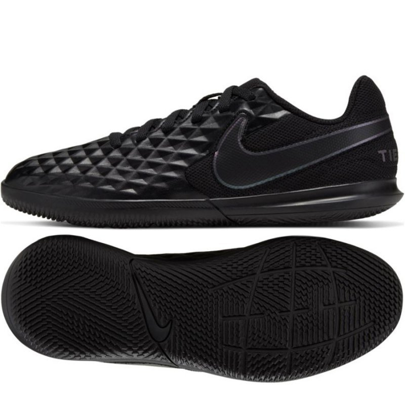 Buty Nike JR Tiempo Legend 8 Club IC AT5882 010 czarny 33 1/2