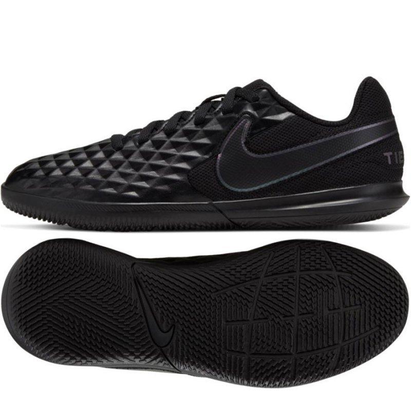 Buty Nike JR Tiempo Legend 8 Club IC AT5882 010 czarny 35 1/2