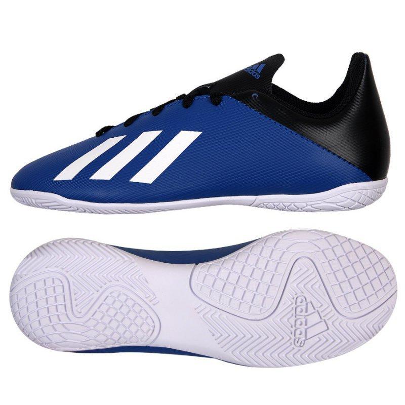 Buty adidas X 19.4 IN J EF1623 niebieski 32