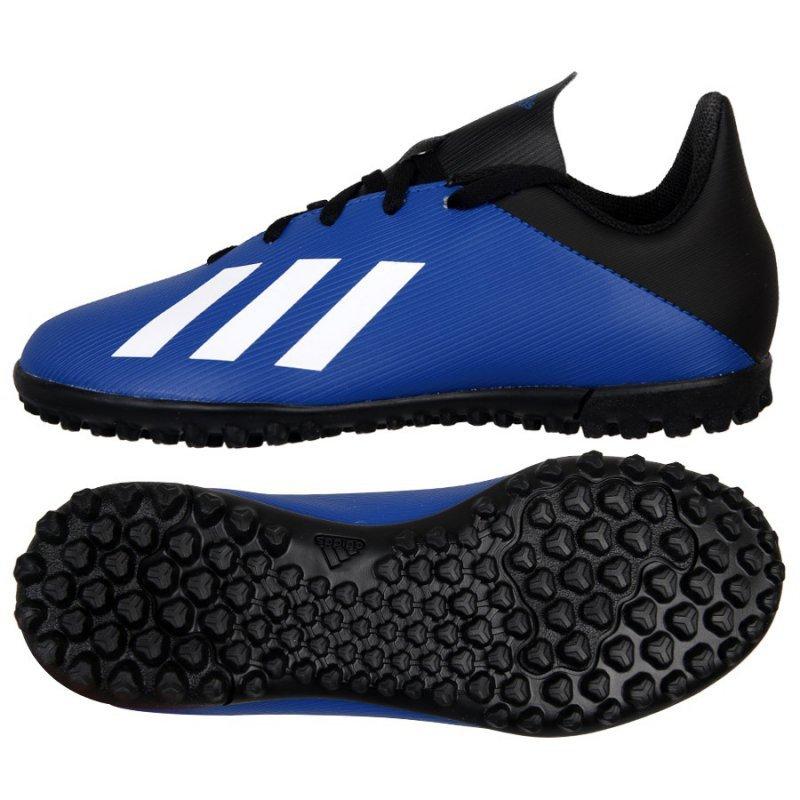 Buty adidas X 19.4 TF J FV4662 niebieski 38