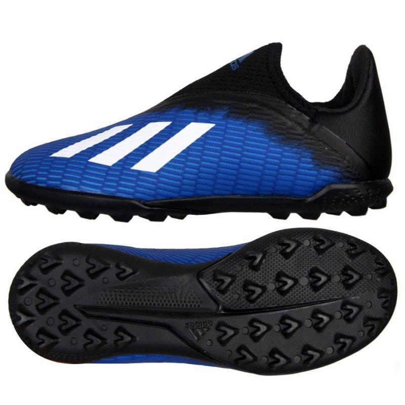 Buty adidas X 19.3 TF J EG9839 niebieski 36