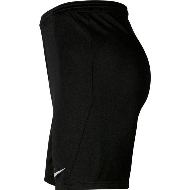 Spodenki Nike Y Park III Boys BV6865 010 czarny XS (122-128cm)