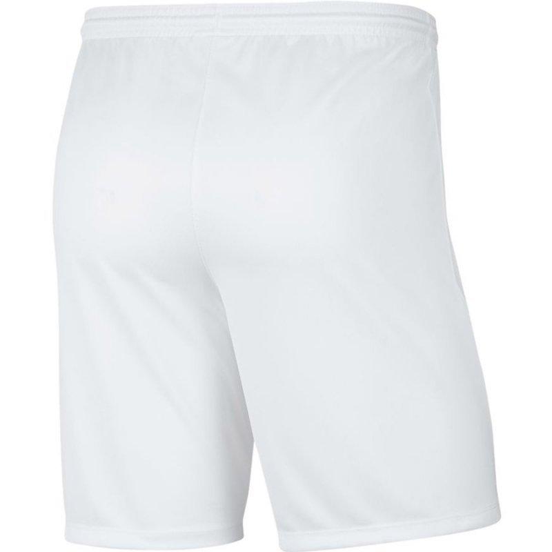 Spodenki Nike Park III BV6855 100 biały XXL