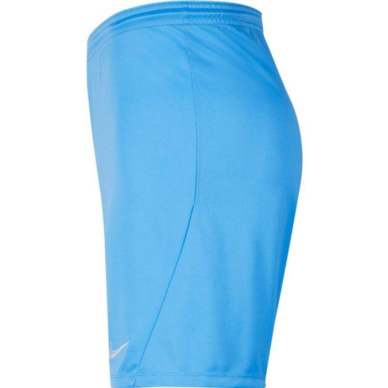 Spodenki Nike Park III BV6855 412 niebieski M