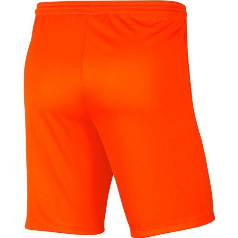 Spodenki Nike Park III BV6855 819 pomarańczowy L