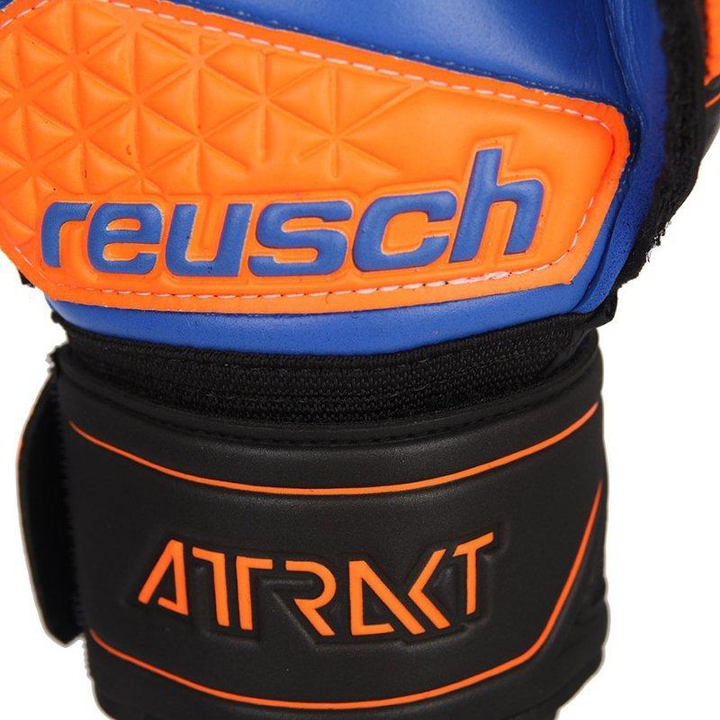 Rękawice bramkarskie Reusch Attrakt S1 Evolution 50 70 239 7083 czarny 9,5