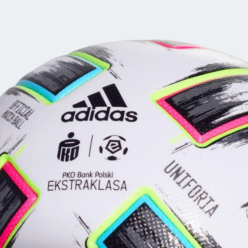 Piłka adidas Uniforia Ekstraklasa PRO FH7322 biały 5