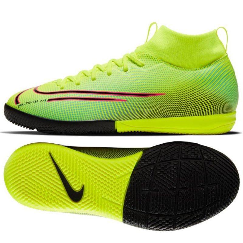 Buty Nike JR Mercurial Superfly Academy MDS IC BQ5529 703 żółty 38