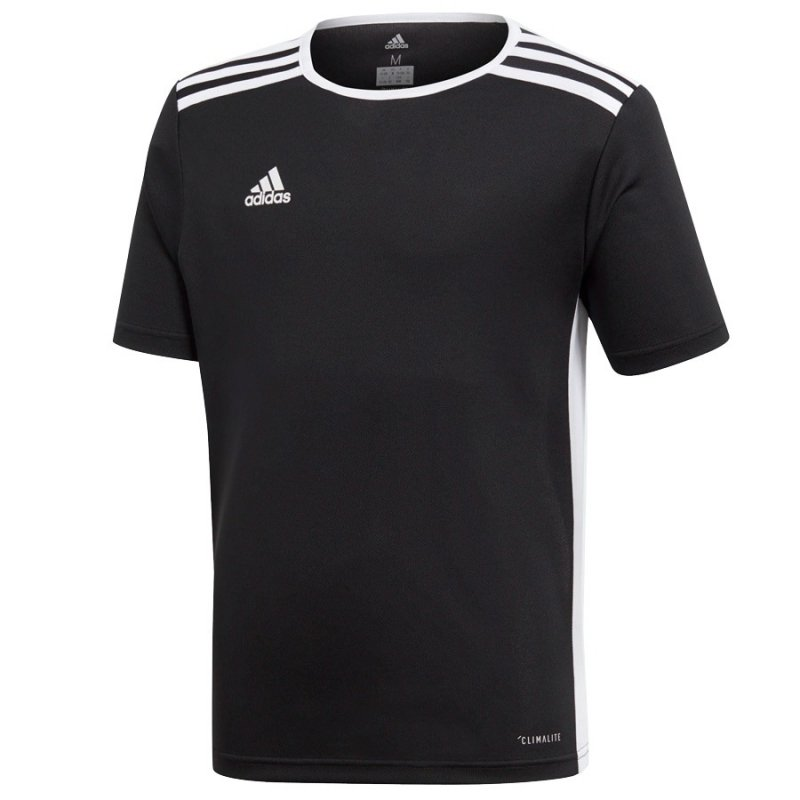 Koszulka adidas Entrada 18 JSY CF1041 czarny 128 cm