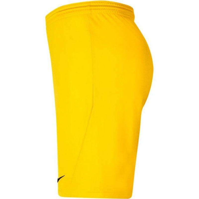 Spodenki Nike Park III BV6855 719 żółty XL