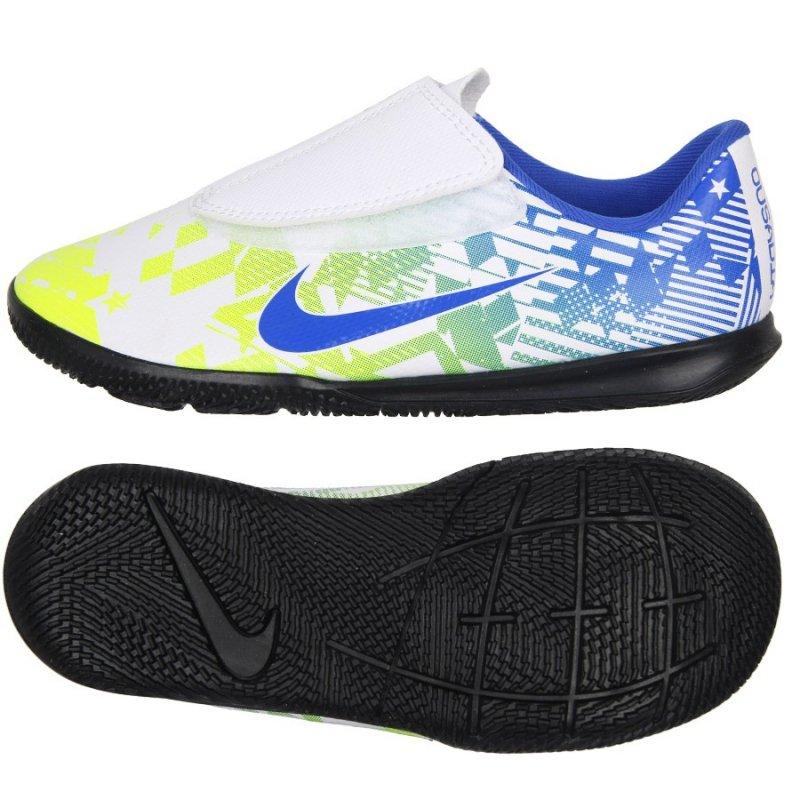 Buty Nike JR Mercurial Vapor 13 Club IC Neymar AT8171 104 biały 30