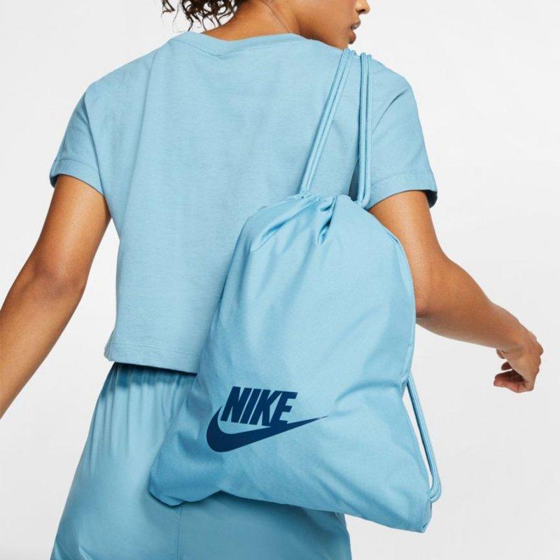 Worek Nike Heritage Gymsack 2.0 BA5901 424 niebieski