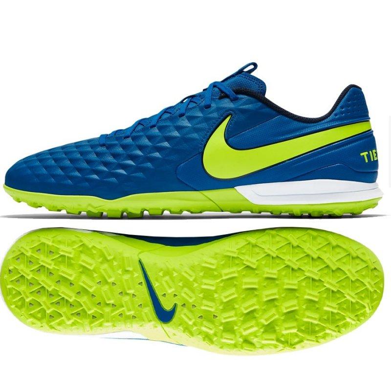 Buty Nike Tiempo Legend 8 Academy TF AT6100 474 niebieski 41