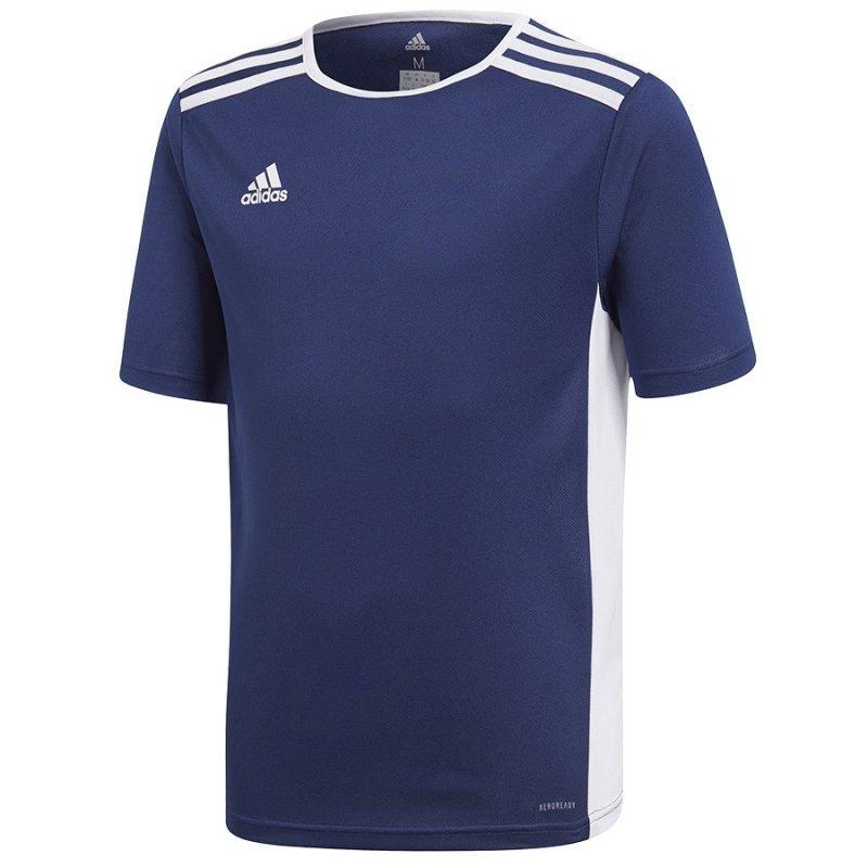 Koszulka adidas Entrada 18 JSY Y CF1047 granatowy 140 cm