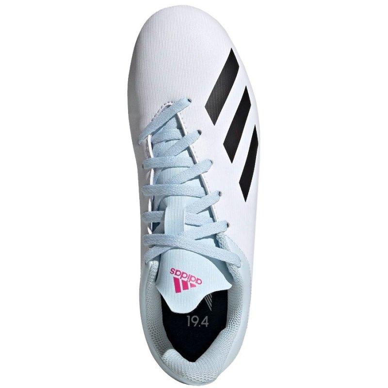 Buty adidas X 19.4 FxG J EF1616 biały 37 1/3