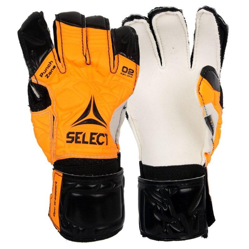 Rękawice bramkarskie Select 02 biały 8