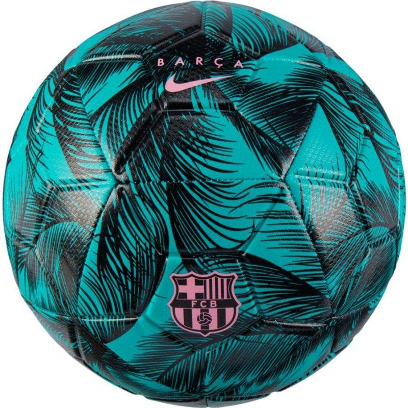 Piłka Nike FC Barcelona Strike DC1978 396 zielony 5