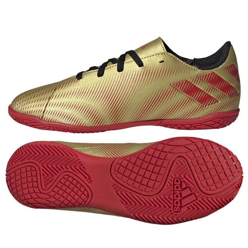 Buty adidas Nemeziz Messi .4 IN J FY0811 złoty 38