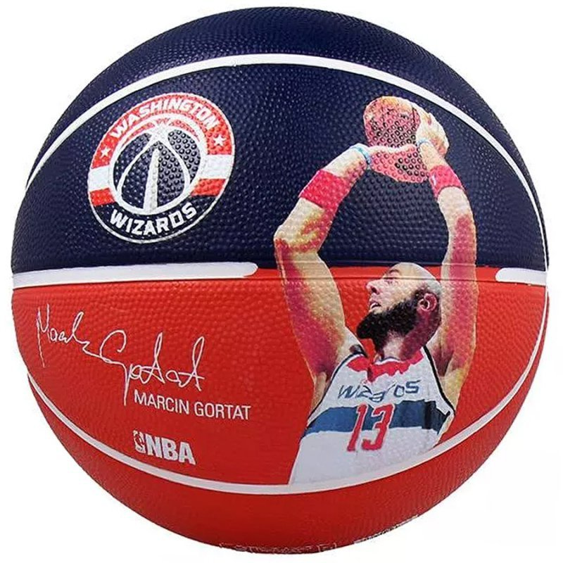 Piłka Spalding NBA Player Marcin Gortat 5 granatowy