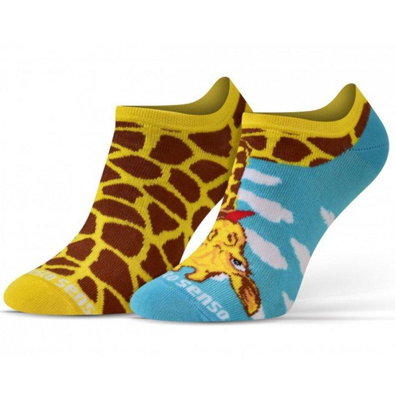 Skarpety Sesto Senso żyrafa żółty 35-38