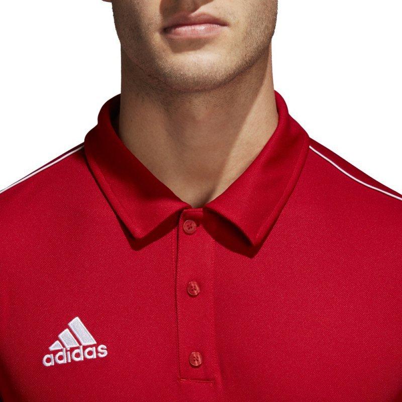Koszulka adidas Polo Core 18 CV3591 czerwony XL