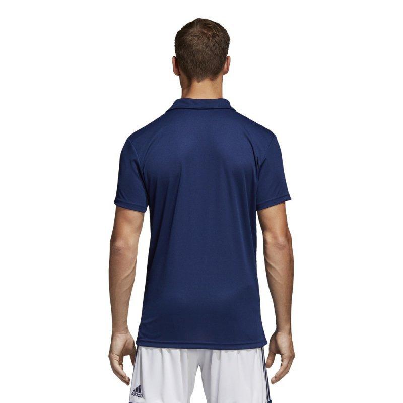 Koszulka adidas Polo Core 18 CV3589 granatowy S