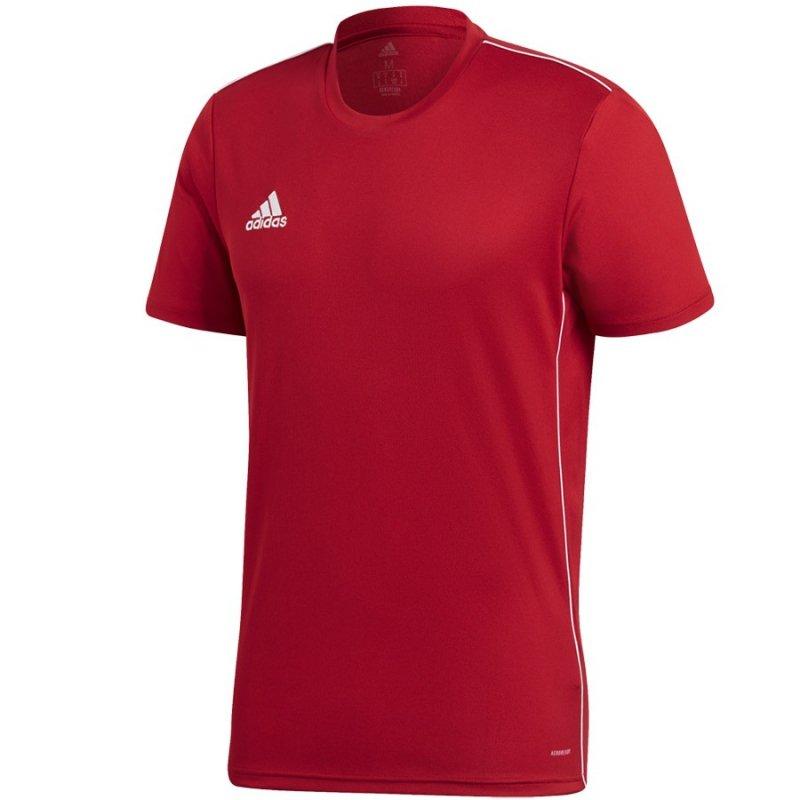 Koszulka adidas Core 18 JSY CV3452 czerwony XXL
