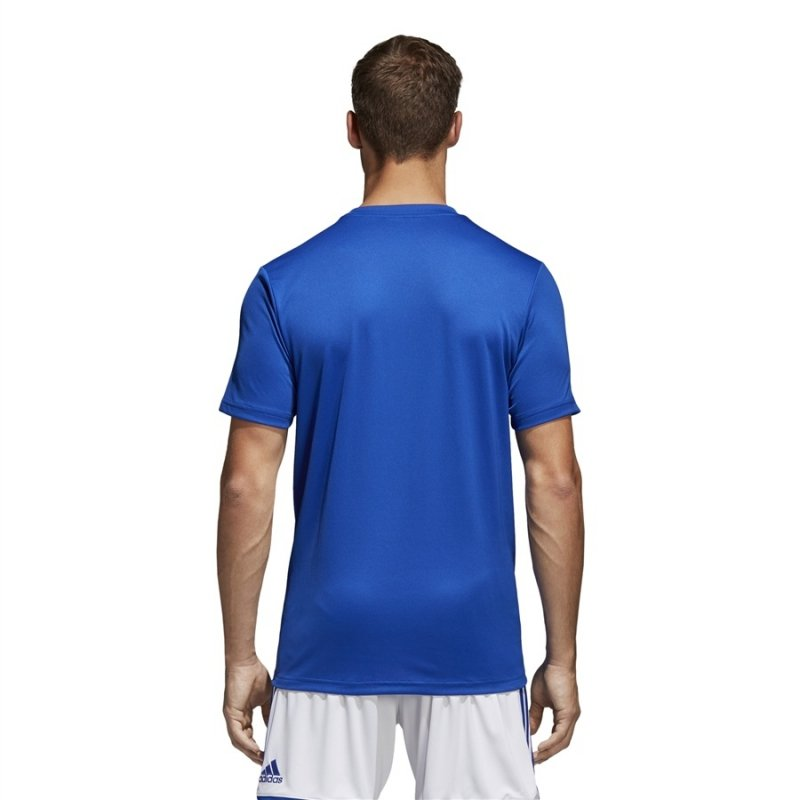 Koszulka adidas Core 18 Tee CV3451 niebieski XXXL
