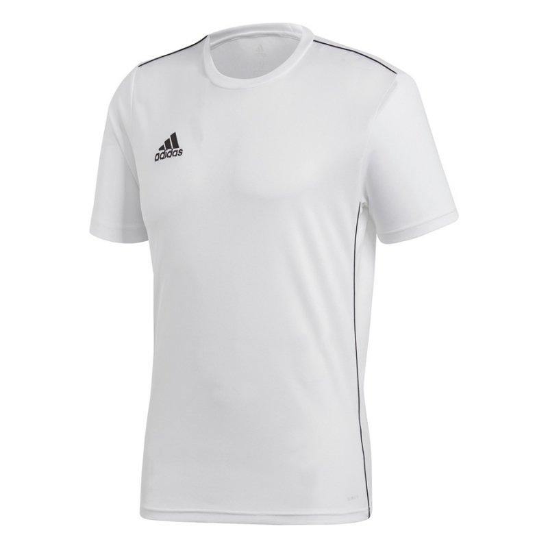 Koszulka adidas Core 18 JSY CV3453 biały XS