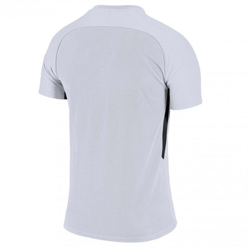Koszulka Nike Y Tiempo Premier JSY SS 894111 100 biały S (128-137cm)