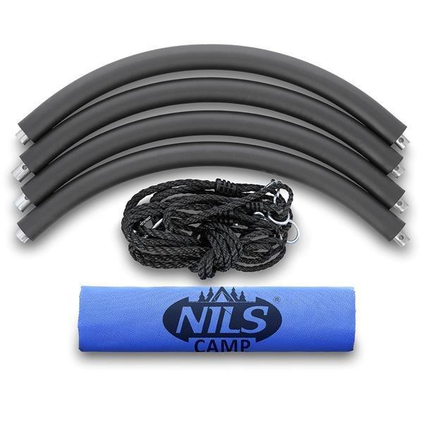 NB5035 BLUE ŚR.110 CM BOCIANIE GNIAZDO HUŚTAWKA NILS CAMP