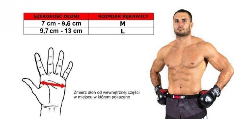 Rękawice do treningu MMA, MMA-TECH  - ARM-2014a -L