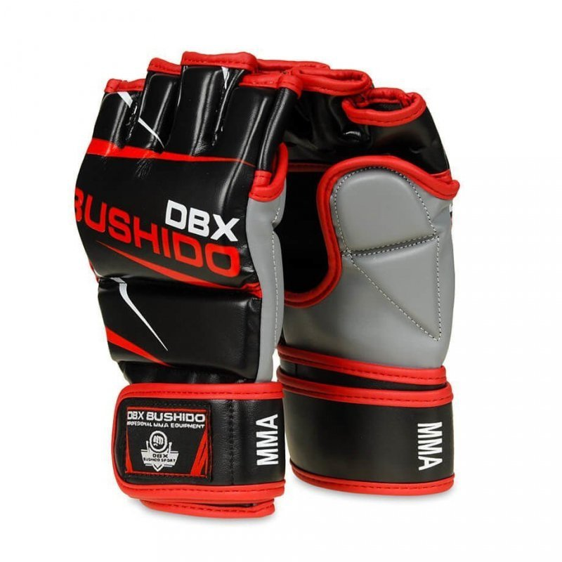 Profesjonalne Rękawice Do Treningu MMA i Ćwiczeń na Worku Bokserskim  DBX BUSHIDO E1v6