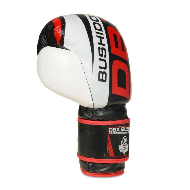 Rękawice Bokserskie Treningowe ze Skóry Naturalnej DBX BUSHIDO 12 oz