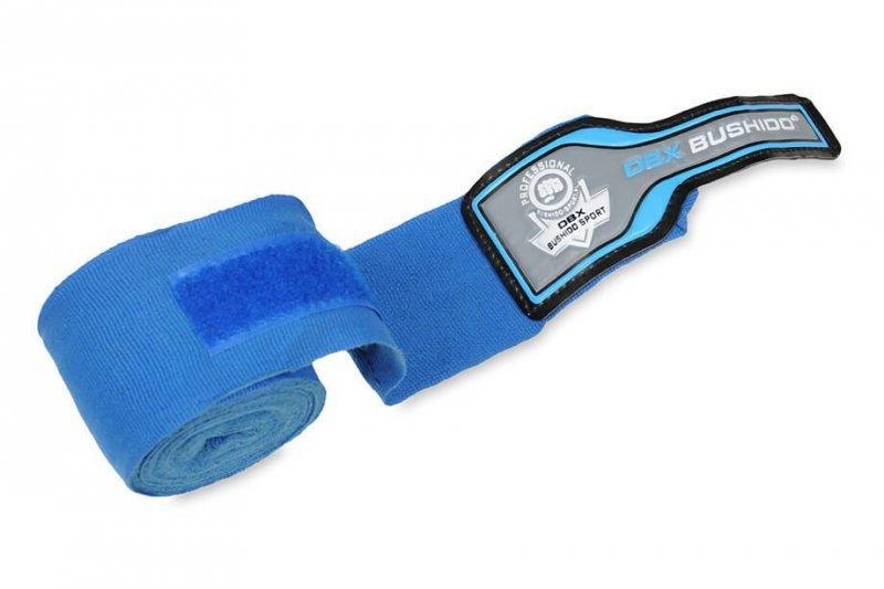 Elastyczne owijki bokserskie niebieskie 4 metrowe | DBX BUSHIDO