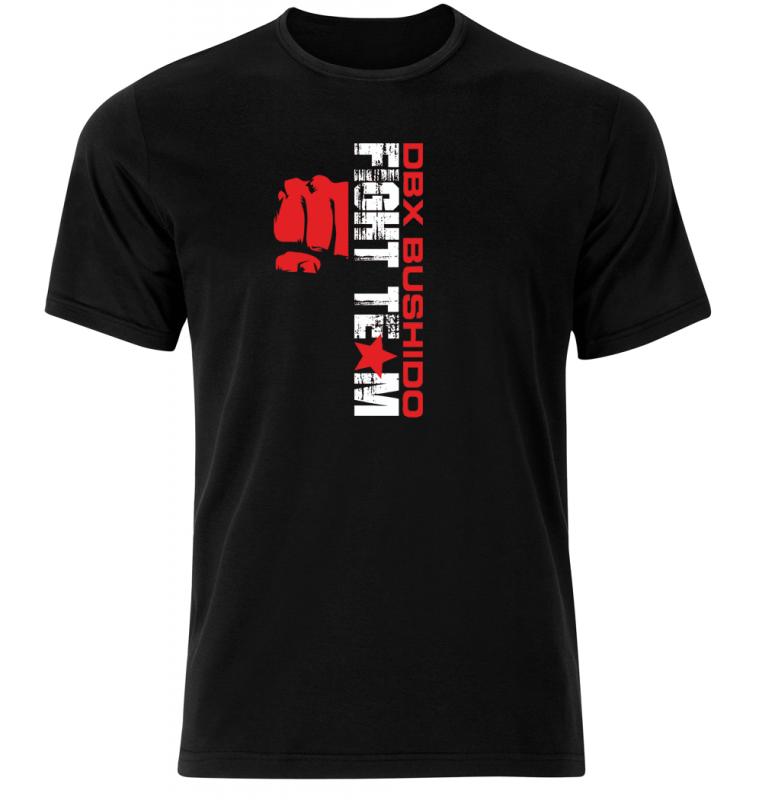 T-Shirt KOSZULKA BAWEŁNIANA DBX BUSHIDO FIGHT TEAM  KT9-S