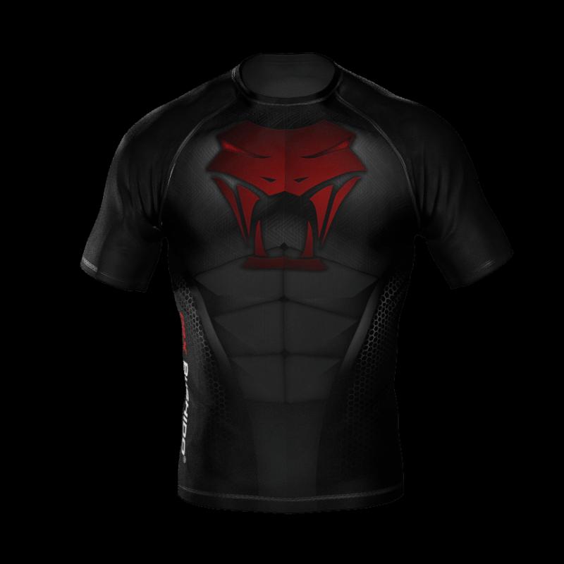 """Koszulka kompresyjna """"Snake"""" typu Rashguard powstała z materiału DBX MORE DRY XL"""