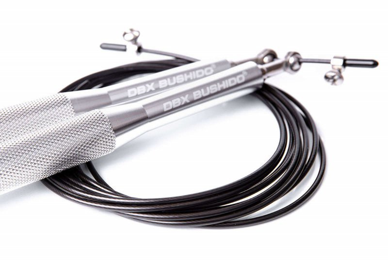 Profesjonalne Skakanka Crossfit z alumiowymi rączkami i stalową rączką
